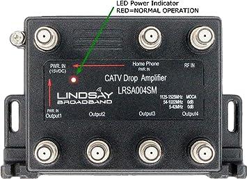 Lindsay LRSA004SM - Amplificador de señal Digital de 4 Puertos ...