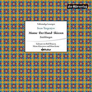 Erzählungen: Mumu / Der Hund / Skizzen Hörbuch