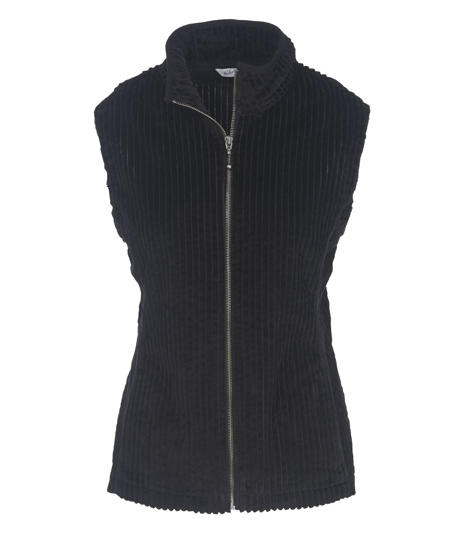 Woolrich Women's Kinsdale Corduroy Vest, Black, X-Small