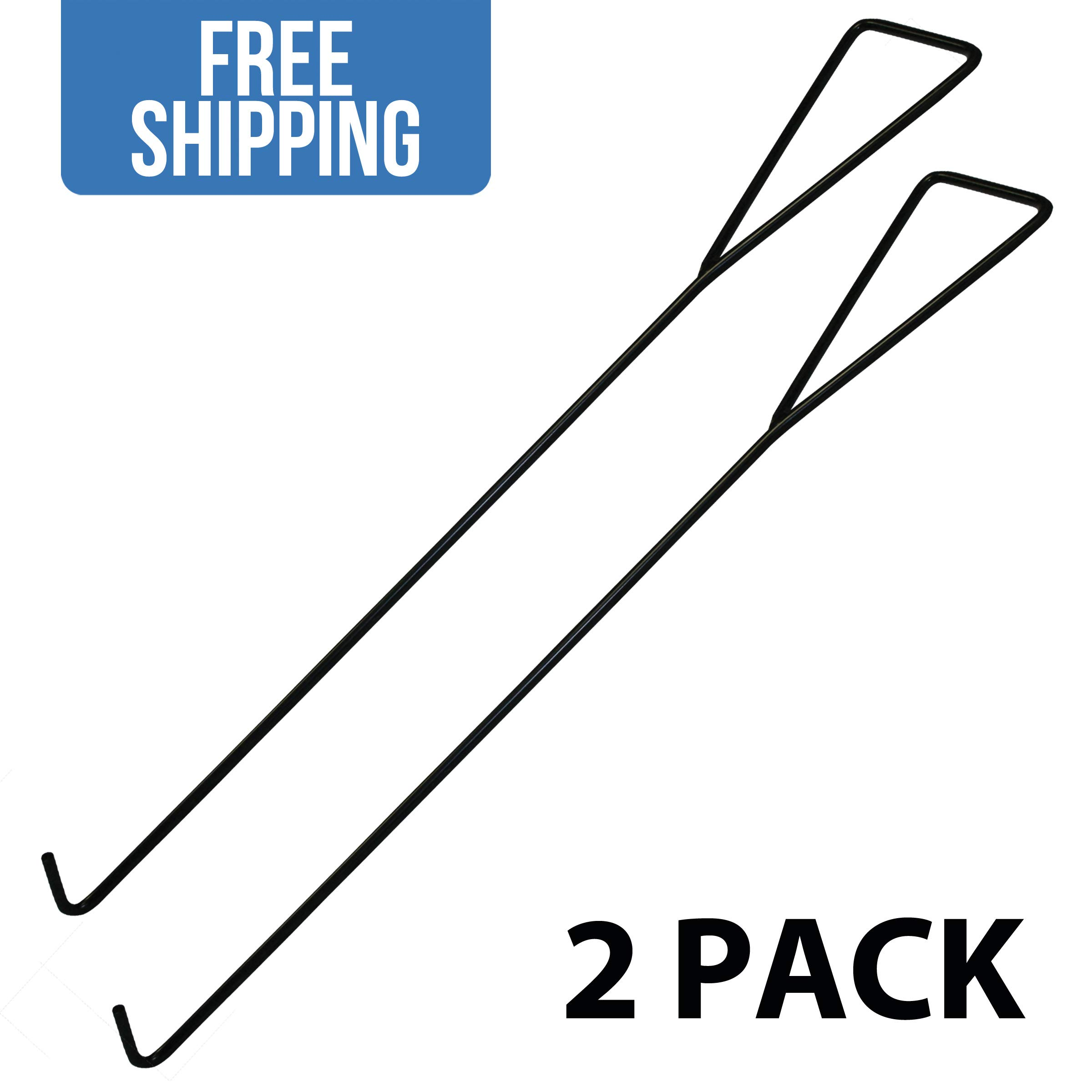 Universal Dock Hook Dolly Tow Hook — 2 Pack - Shippers Supplies by Shippers Supplies