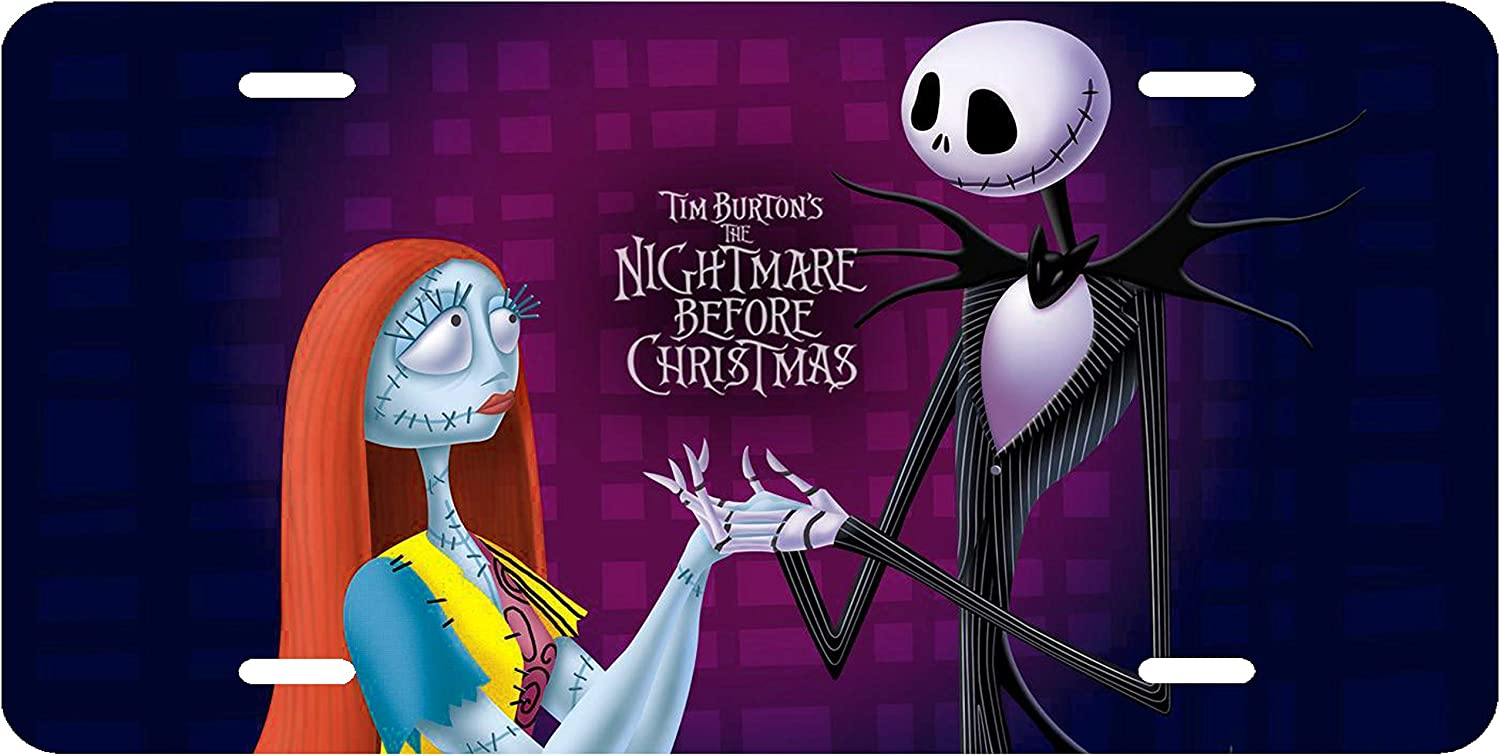 Sticker Car Truck Bumper Nightmare Before Christmas JACK AND SALLY Vinyl Decal
