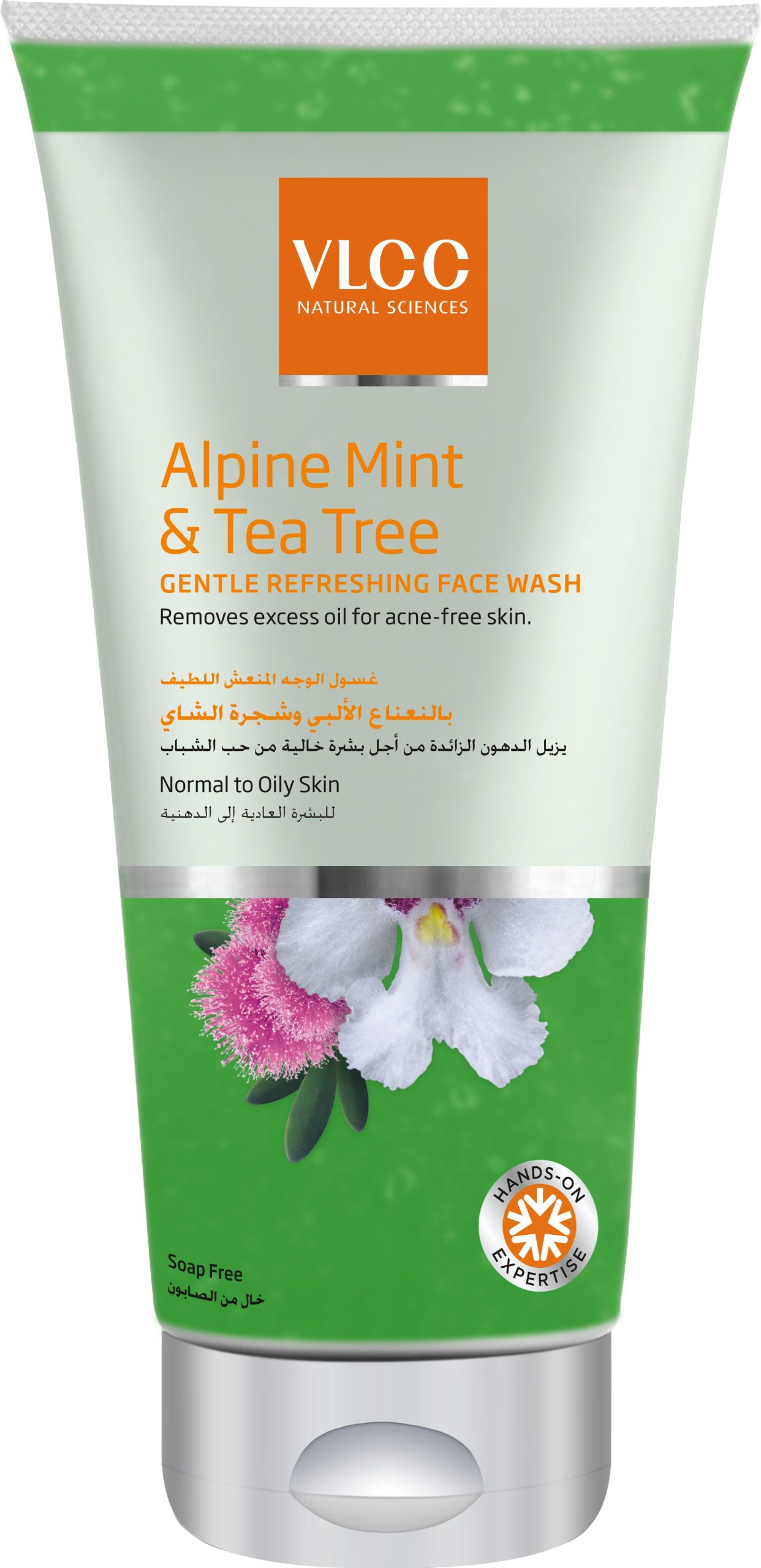 VLCC Alpine Mint And Tea Tree Gentle Refreshing Face Wash, 175ml product image