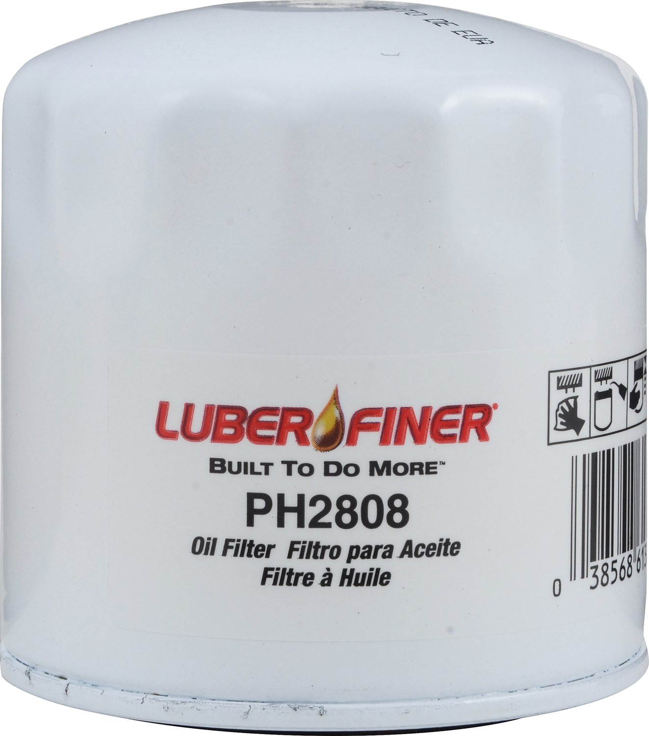 Luber-finer PH2808-12PK 12 Pack Automotive Accessories, 12 Pack by Luber-finer