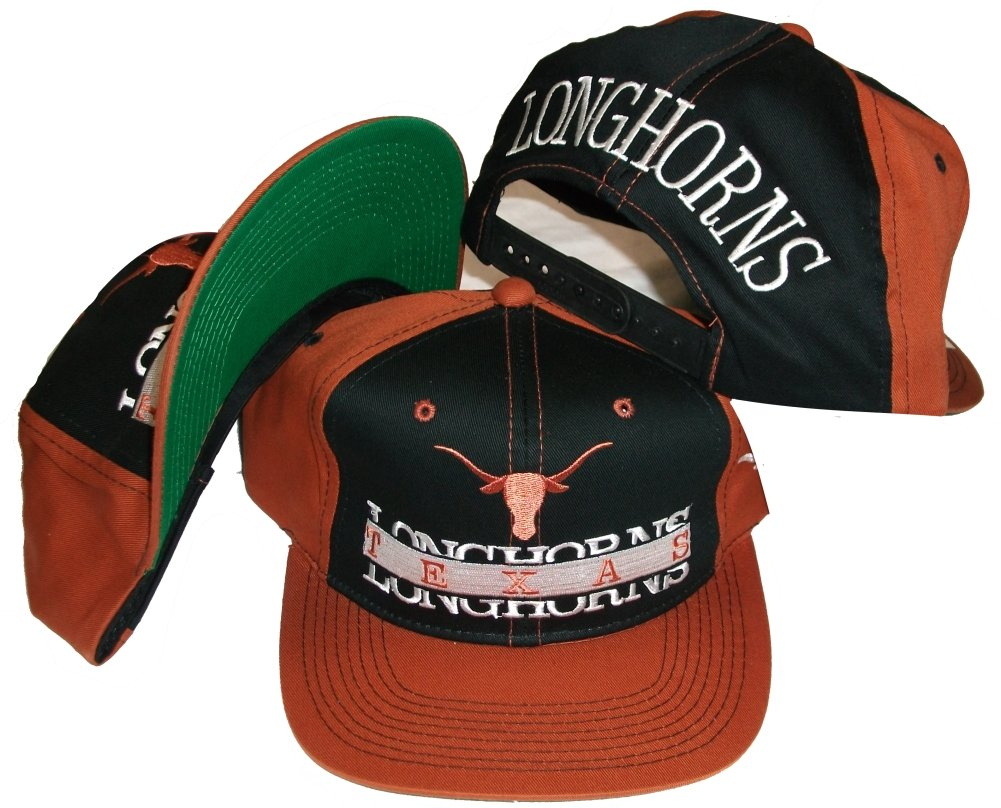 ... spain amazon pro player texas longhorns vintage deadstock snapback hat  cap sports fan baseball caps sports ed3a5aecc0d2