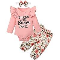KANGKANG Newborn Baby Girls Clothes Cute Infant Baby Girl Clothes Baby Clothes Girl 3pcs Winter Outfit