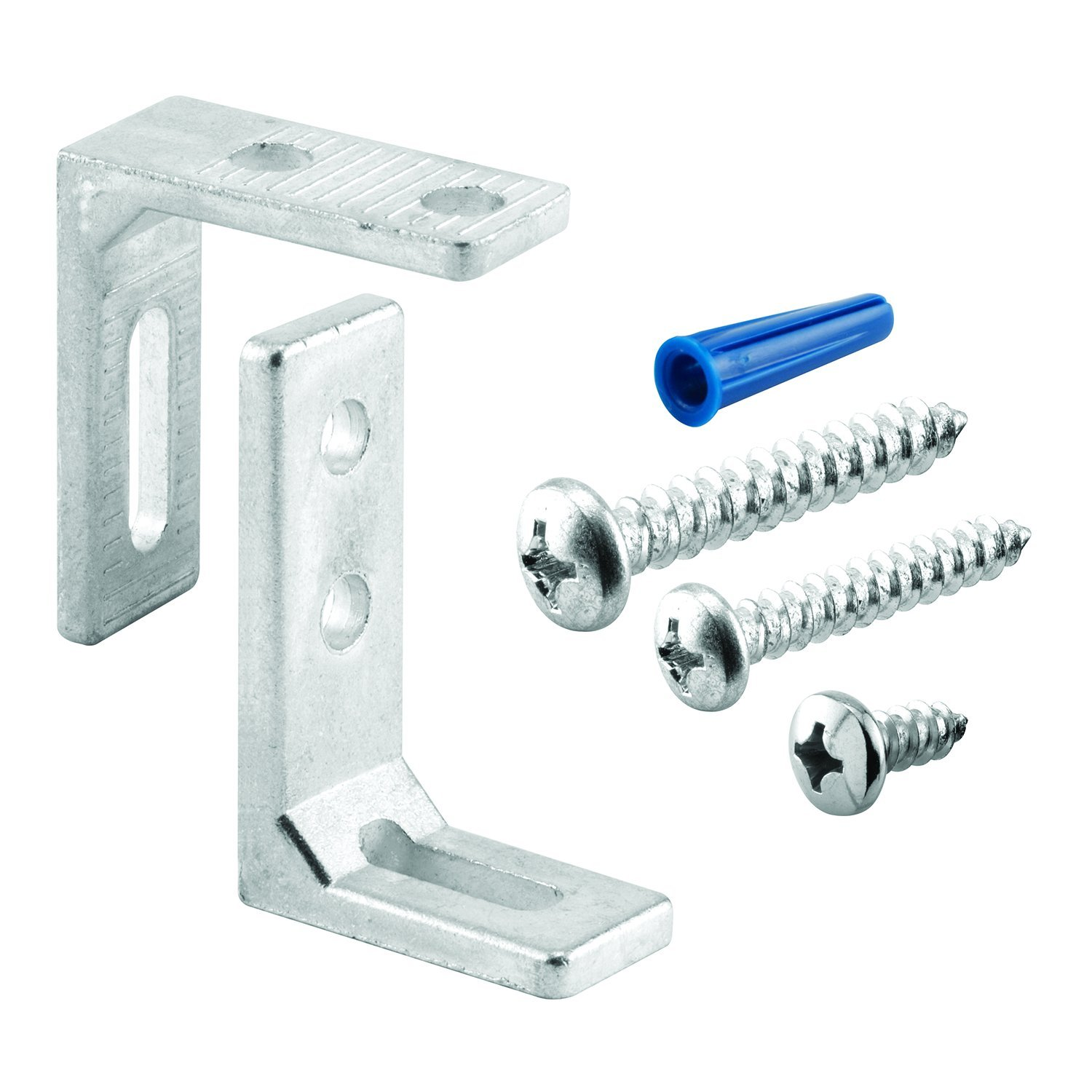 Sentry Supply 656 9408 Pilaster Anchor Pack 3 4 Inch Larger L Brackets Fasteners Pack of 1 Kit
