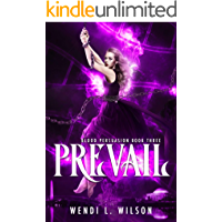Prevail: A Reverse Harem Paranormal Romance: Blood Persuasion Book 3
