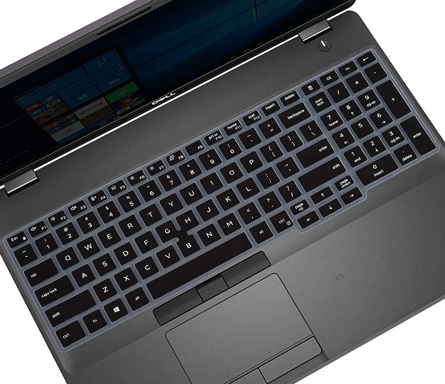 Keyboard Cover Skin for Dell Latitude 5500 5501 5510 5511 15.6 inch Laptop and Dell Precision 3540 3541 15.6