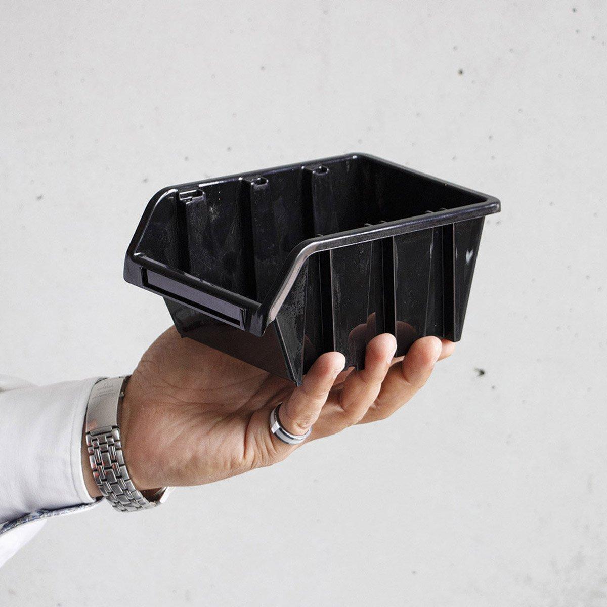 Lot de 120 bo/îtes de rangement empilables 1,5 l dans une bo/îte de rangement 19,5 x 12 x 9 cm