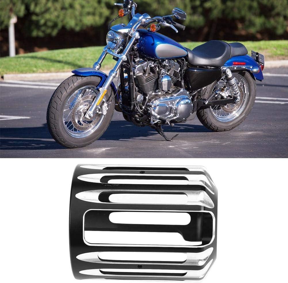 Duokon Filtre /à Huile de moto,Couvercle de Filtre /à Huile de moto en Aluminium CNC pour XL 883 Dyna Softail Touring Unive