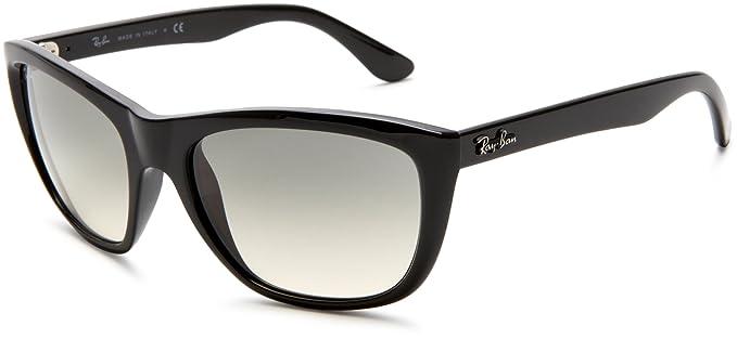 Amazon.com: Ray-Ban 0rb4154 cuadrado anteojos de sol, negro ...