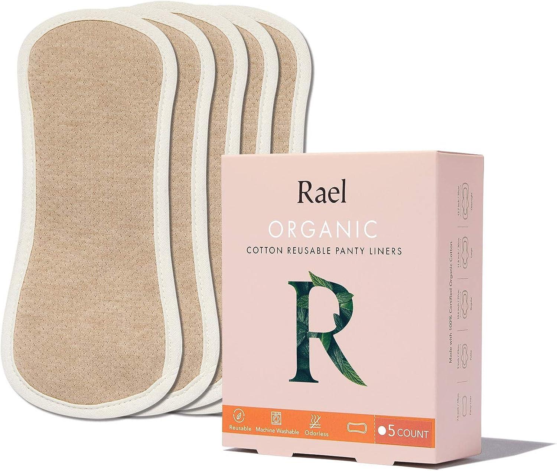 HESTA algodón orgánico impermeable reutilizable Gamuza Pantyliners ...