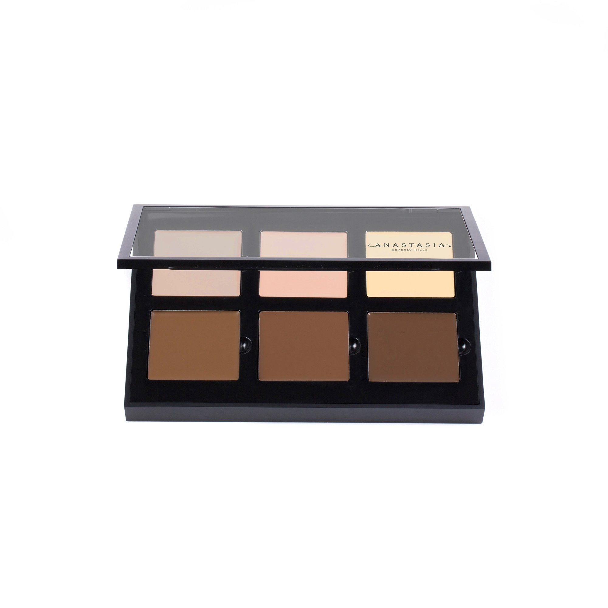 Anastasia Beverly Hills Contour Cream Kit (Light). 6-Shade Highlight and Contour Palette for Light Skin Tones
