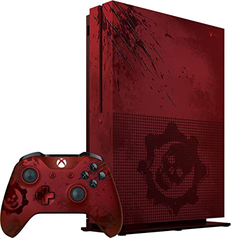 Xbox One S 2TB Console - Gears of War 4 Limited Edition Bundle(Versión EE.UU., importado): Amazon.es: Videojuegos