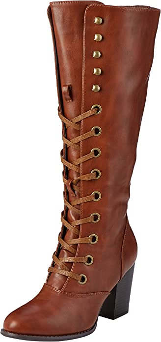 Tall Lace Up Boots High
