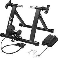 Femor Rodillo Bicicleta, Rodillo Ciclismo Plegable, Rodillo Magnetico de Acero,Ejercicio Ciclismo con 8 Niveles de…