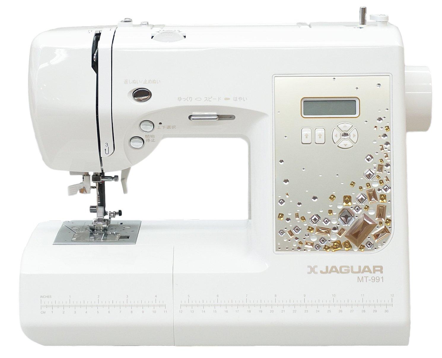 最新モデル ジャガーコンピュータミシン MT991 限定クリスタルゴールドパネル 特別仕様モデル B01ABSDK5C