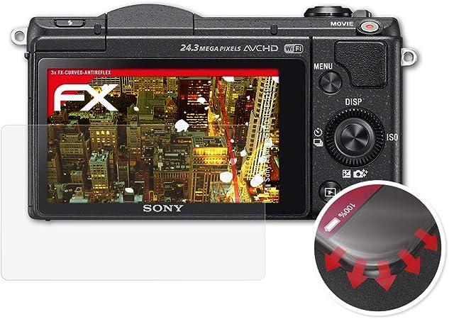 Película antirreflectante para Sony Alpha NEX-7 antirreflectante pantalla de protección de película mate