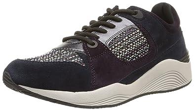Womens D Omaya a Low-Top Sneakers, 4 Geox