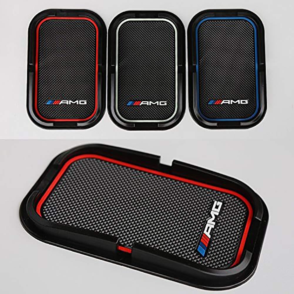 Modaka Deux Anti-Glisse Mat Support Téléphone Voiture en Silicone Antidérapant pour tapis de voiture