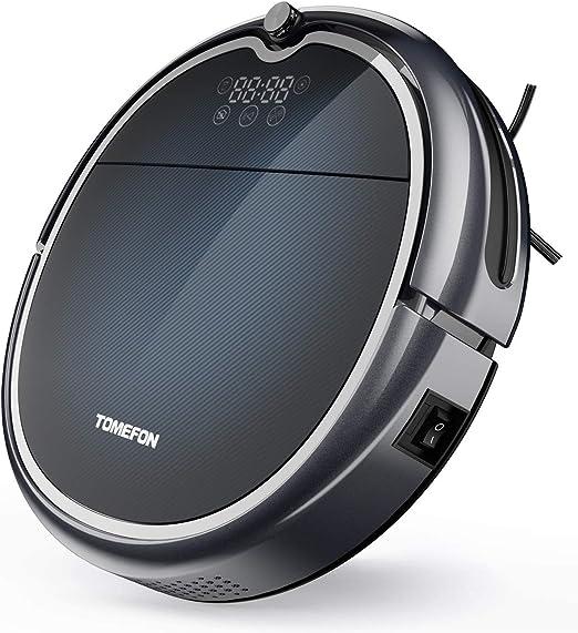 Tomefon G50 Robot Aspiradora con conectividad Wi-Fi, 1500Pa ...