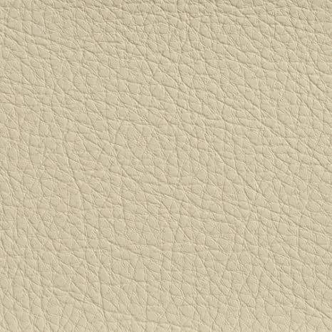 """Ivory Leather Grained Outdoor Automotive Vinyl Fabric 30 Yard Roll  54/""""Wide"""