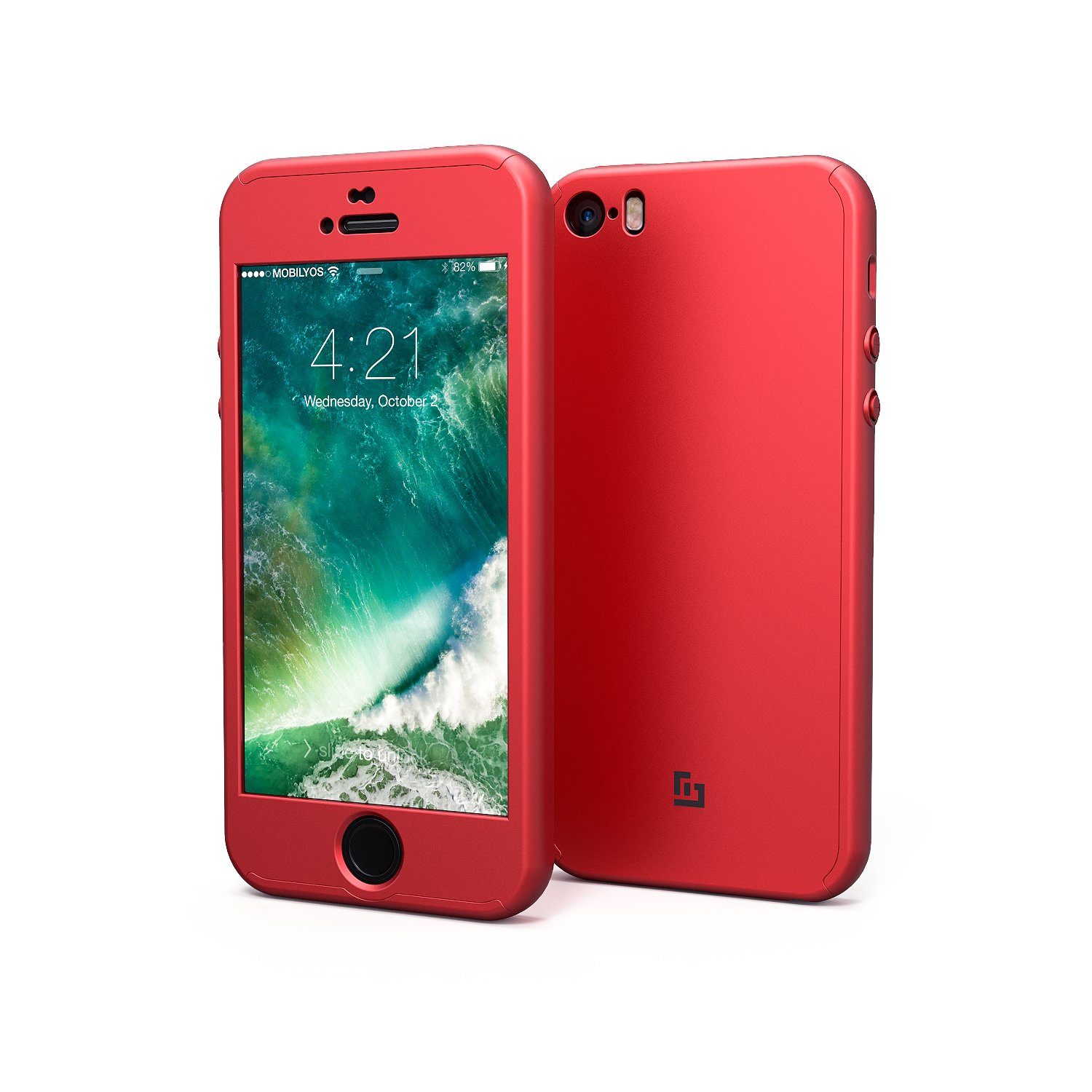 custodia iphone 5s rossa
