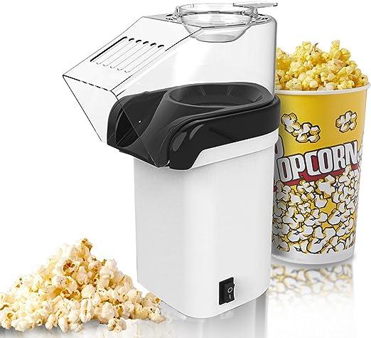 Máquina de palomitas, foneso Popcorn Maker en blanco, fácil de ...