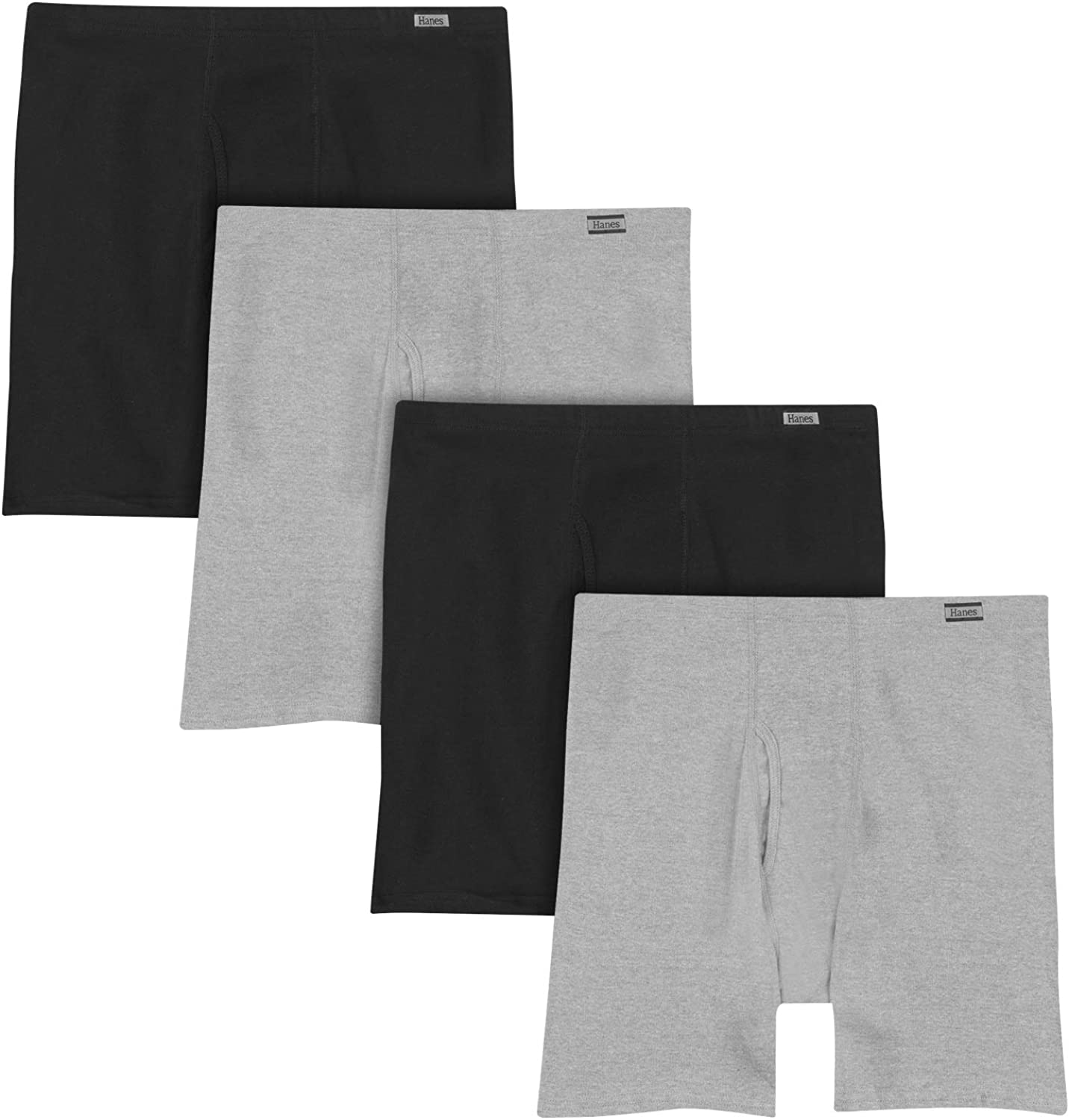 Hanes Men's Tagless Comfort Soft Boxer Briefs