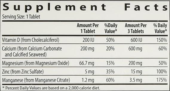 NUTRILITE Cal Mag D Plus - 180 Comprimidos - Contiene tres nutrientes naturales: calcio, magnesio y vitamina D: Amazon.es: Salud y cuidado personal