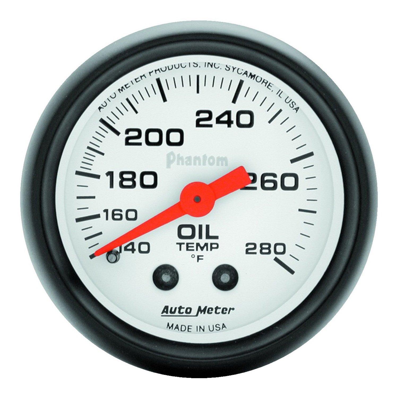 Auto Meter 5741 Phantom Mechanical Oil Temperature Gauge
