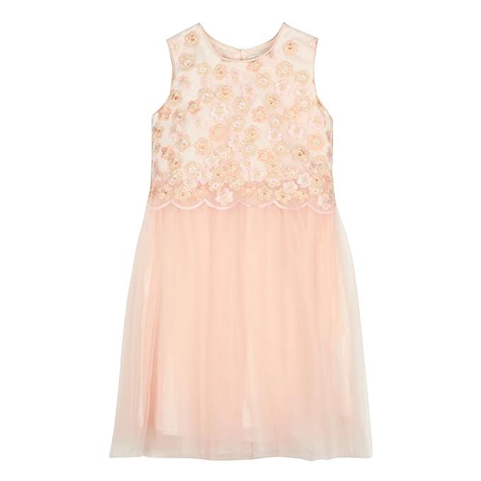 e08a280b9 Debenhams RJR.John Rocha Kids Girls' Light Pink Embroidered Floral ...