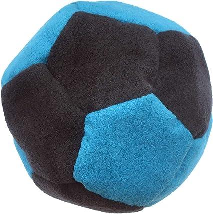 Tremendous Amazon Com Black Turquoise Sand Filled Faux Suede Footbag Inzonedesignstudio Interior Chair Design Inzonedesignstudiocom