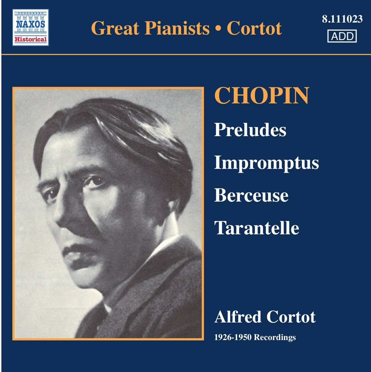Chopin: Preludes, Impromptus, Berceuse, Tarantelle