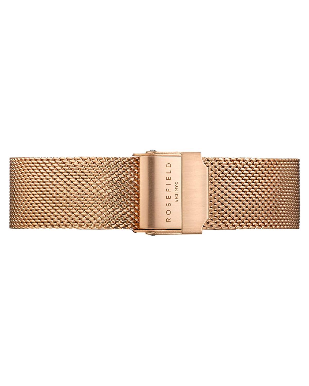 Rosefield Reloj Analógico para Mujer de Cuarzo con Correa en Metal MBR-M45: Amazon.es: Relojes