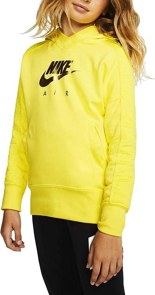 Nike Girl NSW AIR Pull Over GX Hoodie Bv2709-740