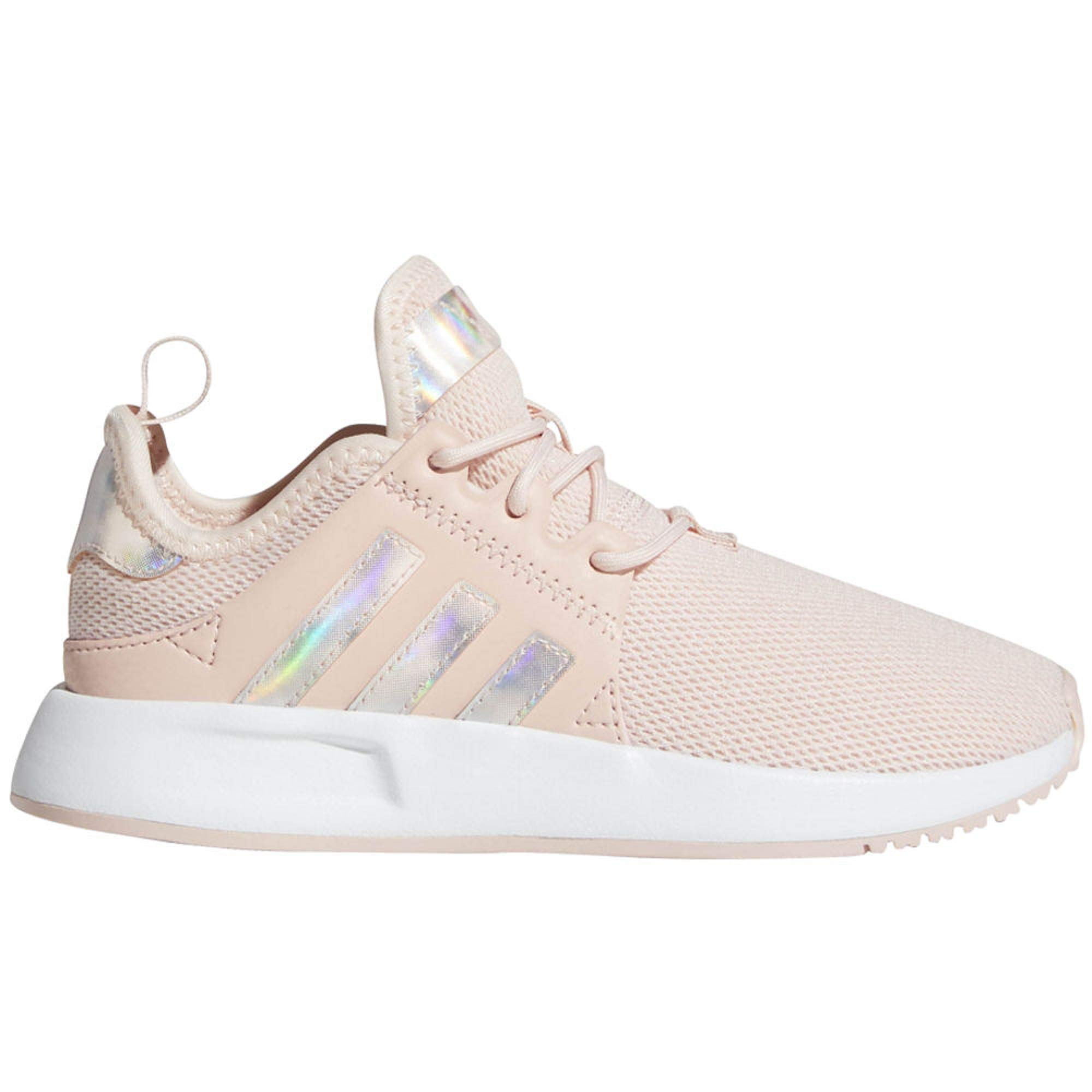 adidas Originals Kids Girl's X_PLR C (Little Kid) Icey Pink/White/Black 1 M US Little Kid