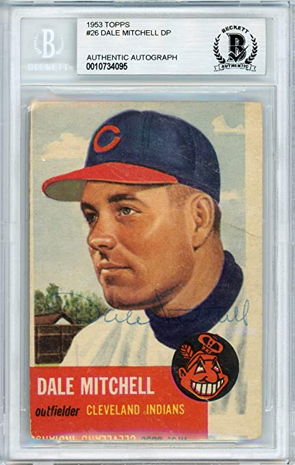 Sports Trading Cards & Accessories 1952 Topps #92 Dale Mitchell Cleveland Indians Baseball Card
