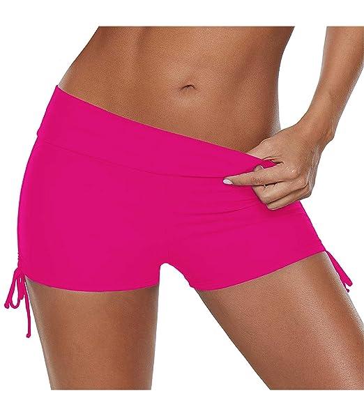 CharmLeaks Womens Sports Swim Shorts Boyleg Board Beach Bikini Tankini...