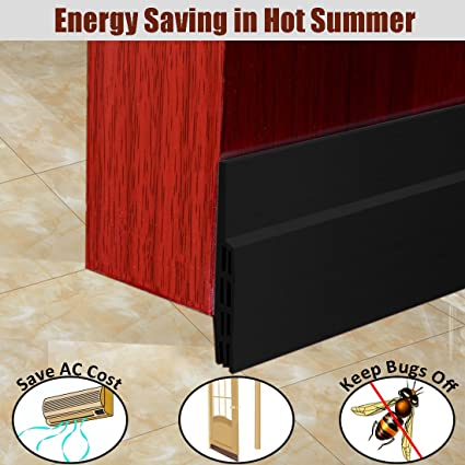 MAZU Door Bottom Seal Strip Energy \u0026 Money Saving in Hot Summer Save Air Conditioner Cost & MAZU Door Bottom Seal Strip Energy \u0026 Money Saving in Hot Summer Save ...