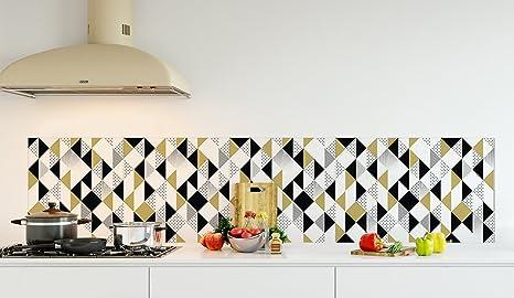 Stampe Da Cucina : Credenza da cucina in pannello composite alluminio o fondo di cappa