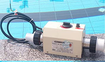 Piscina y SPA Calefacción Eléctrica Termostato Calentador 3KW 220V