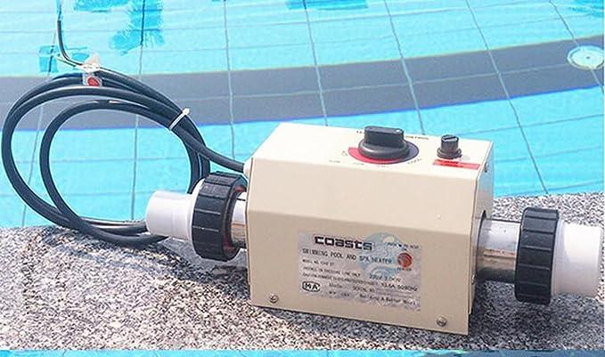 Piscina y SPA Calefacción Eléctrica Termostato Calentador 3KW 220V: Amazon.es: Electrónica
