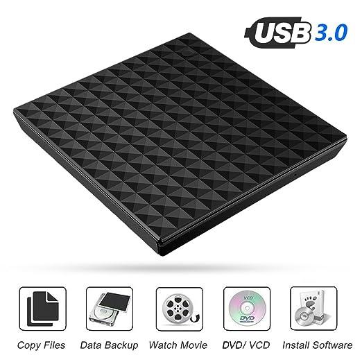 59 opinioni per Unita DVD,Esterna DVD,USB 3.0 DVD-RW Drive,Unita di Scrittura / Lettore