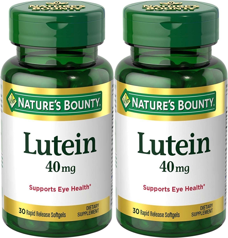 ルテイン40mgの、60カウント(2ボトルで)  Lutein 40mg , 60 count ( In 2 Bottles ) B019VE8QSI