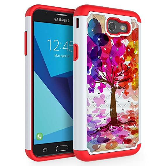 a255d209c7c Amazon.com  Case for Samsung Galaxy J7 V 2017 (1st Gen)  Galaxy J7 ...