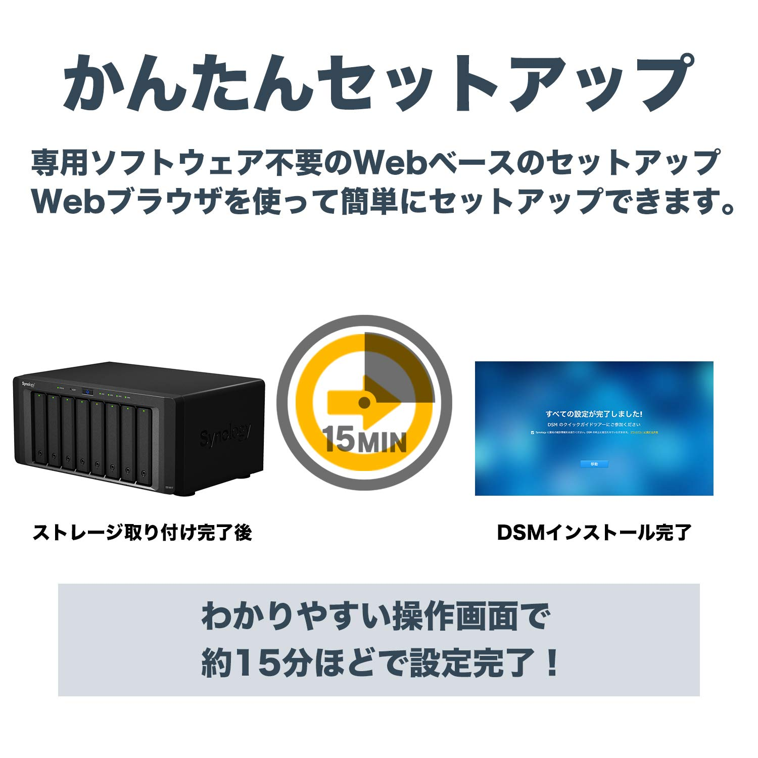 Synology 8 bay NAS DiskStation DS1817 (Diskless) by Synology (Image #2)