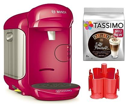 Bosch Tassimo Vivy 2 Bundle + Dispensador + tdiscs heißgetr änke eléctrica rosa