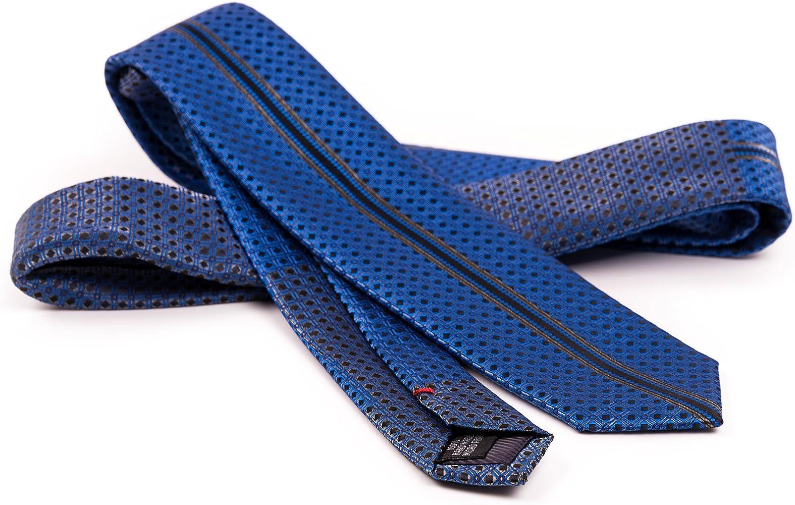 OfficePunk Corbata azul de resistente seda y microfibra - BE BLUE ...