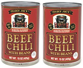 Trader Joe's Beef Chili with Beans
